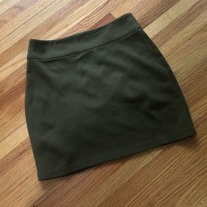 Urban Outfitters Skirts - Urban Outfitters Green Mini Skirt